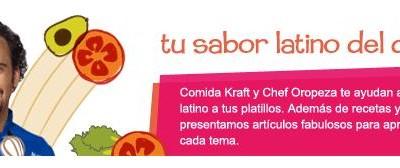 Cada Mes un tema Diferente, Comparte tu Sabor Latino con Comida Kraft