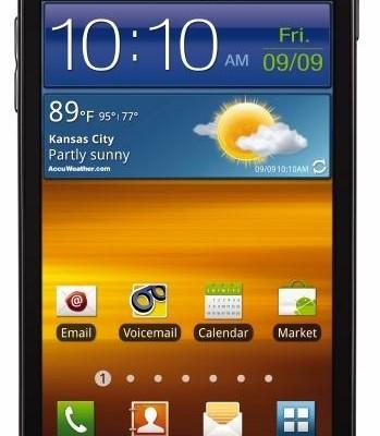 Galaxy S II con Samsung Epic 4G Touch de Sprint
