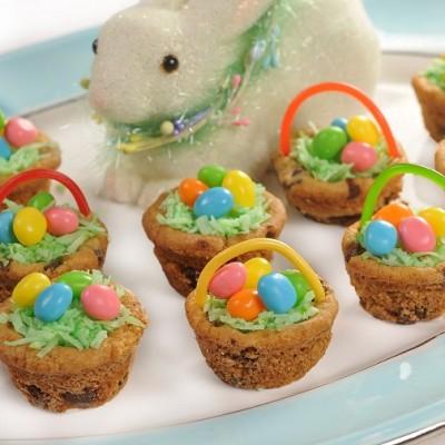 Canastas de Pascua con Trocitos de Chocolate. SORTEO