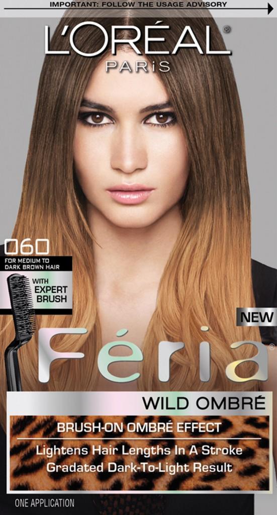 L'Oreal Paris Feria Wild Ombre in O60 For Medium to Dark Brown Hair