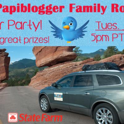 Twitter Party de Despedida a PapiBlogger antes de su Viaje #SFRoadtrip