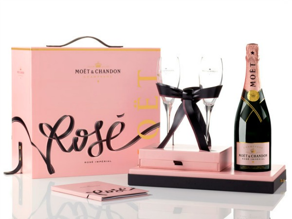 Champaña Moët & Chandon Rosé Impérial para dos