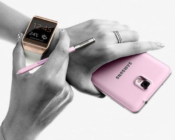 Samsung Galaxy Note + Gear