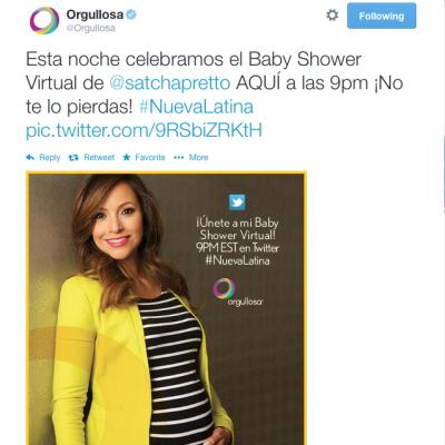 Resumen: Baby Shower Virtual con Pampers Latino y Orgullosa