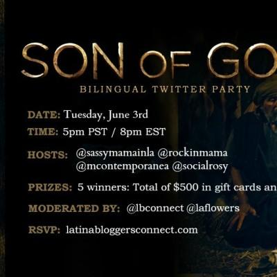 Son of God en DVD y Twitter Party