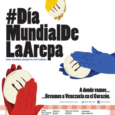 El Día Mundial de la Arepa – 13 de Septiembre de 2014