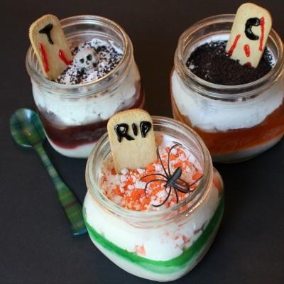Ideas Para Halloween: Postre Tenebroso con #ComidaKraft