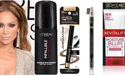 Jennifer López en los Golden Globes 2015- Copia su Peinado y Maquillaje