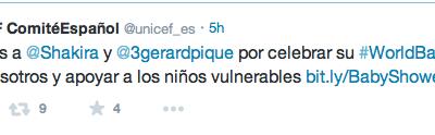 Shakira y Pique Invitan a su Baby Shower Virtual a Través de UNICEF