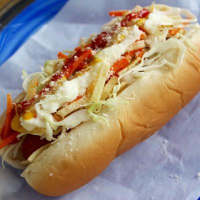 Hot Dogs Estilo Venezolano