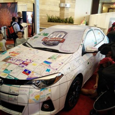 El Toyota Corolla Celebró su 50 Aniversario en Hispanicize