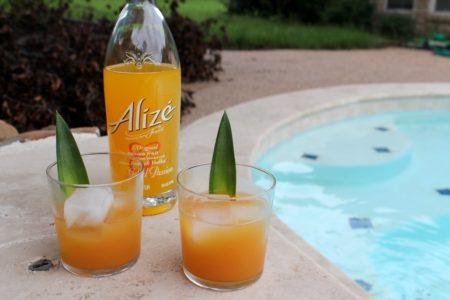 Coctéles de Verano con Vodka Alizé - Isla de Plata