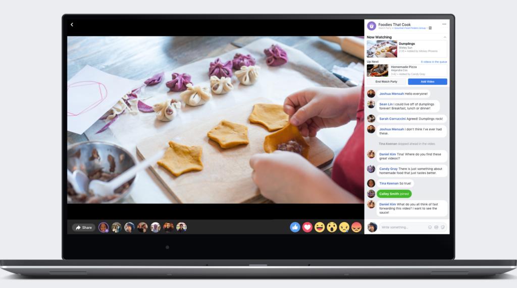 Facebook Lanza Watch Party en Todo el Mundo