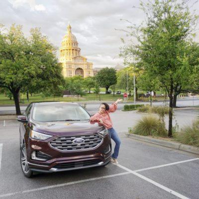 De Viaje Por Carretera con la Ford Edge