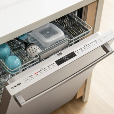 Crystal Dry de la serie de lavaplatos eléctricos Bosch 800