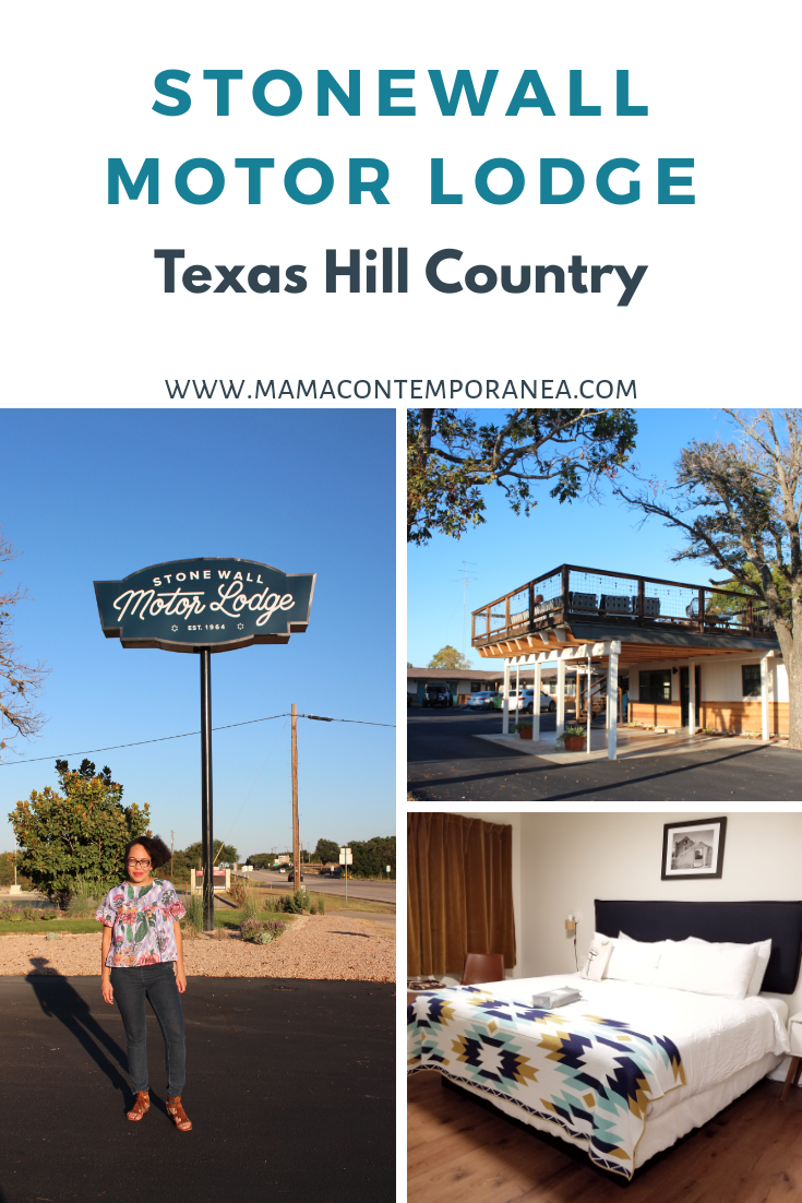 Donde Quedarse en Texas Hill Country- Stonewall Motor Lodge